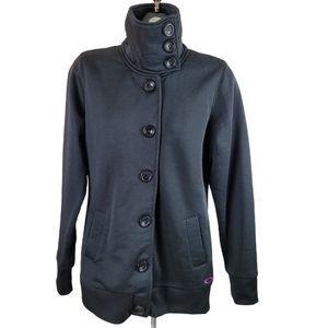 OAKLEY Jacket Black Funnel Button Down